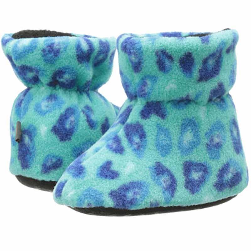Acorn Easy Bootie Turquoise Leopard A10811TQL (Infant)