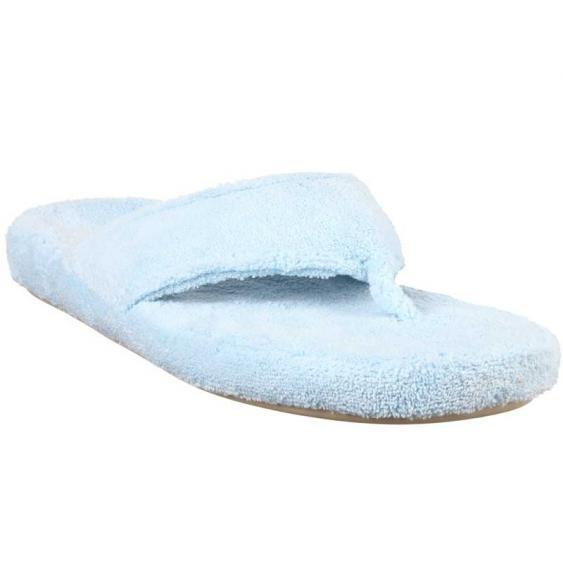 Acorn Spa Thong Powder Blue A10454AEV (Women's)