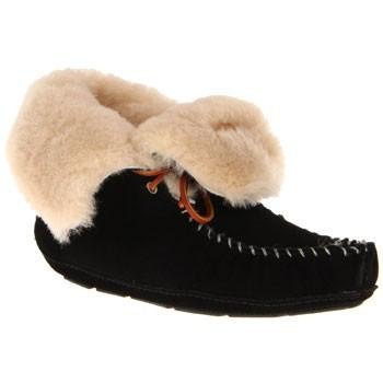Acorn Sheepskin Moxie Boot Black A114088BLK (Women's)