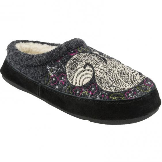 Acorn Forest Mule Grey Squirrel A10077GSQ (Women's)