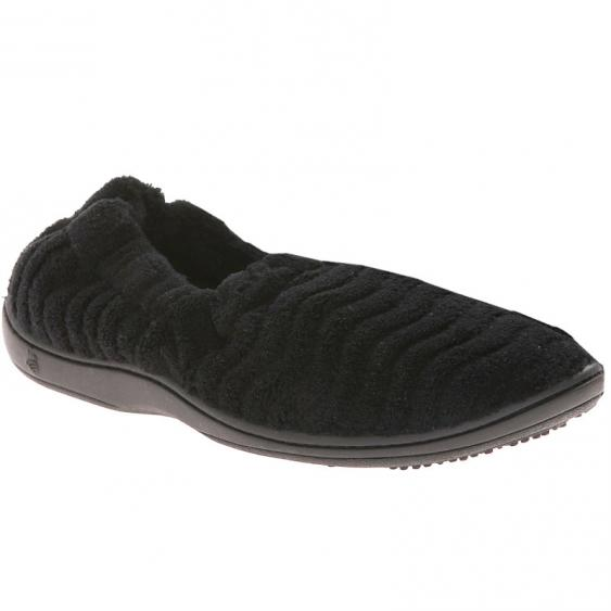 Acorn Spa Support Moc Black A10099BLK (Women's)
