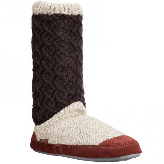 Acorn Slouch Boot Charcoal Cable A10161CCK (Women's)