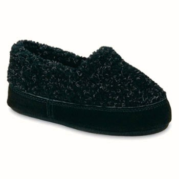 Acorn Tex Moc Black Berber 10149ACE (Youth)
