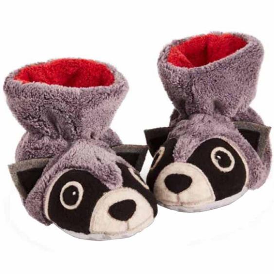 Acorn Easy Critter Bootie Raccoon 10129-RCN (Infant)
