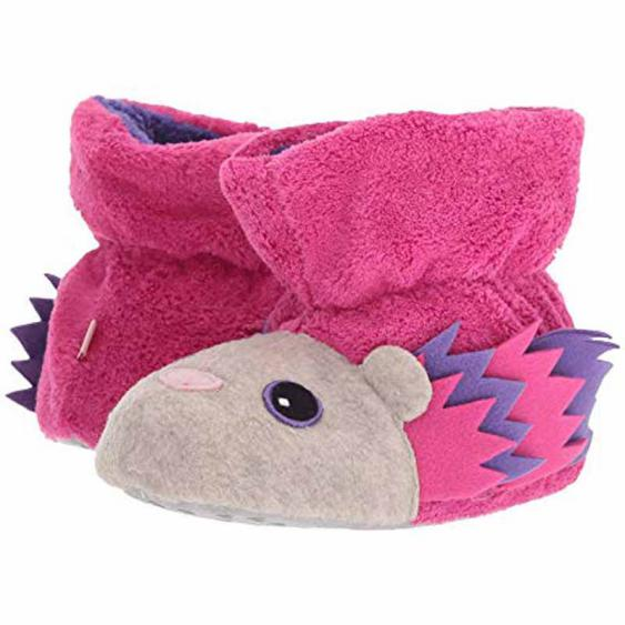 Acorn Easy Critter Bootie Very Berry Hedgehog 10129-VBH (Infant)