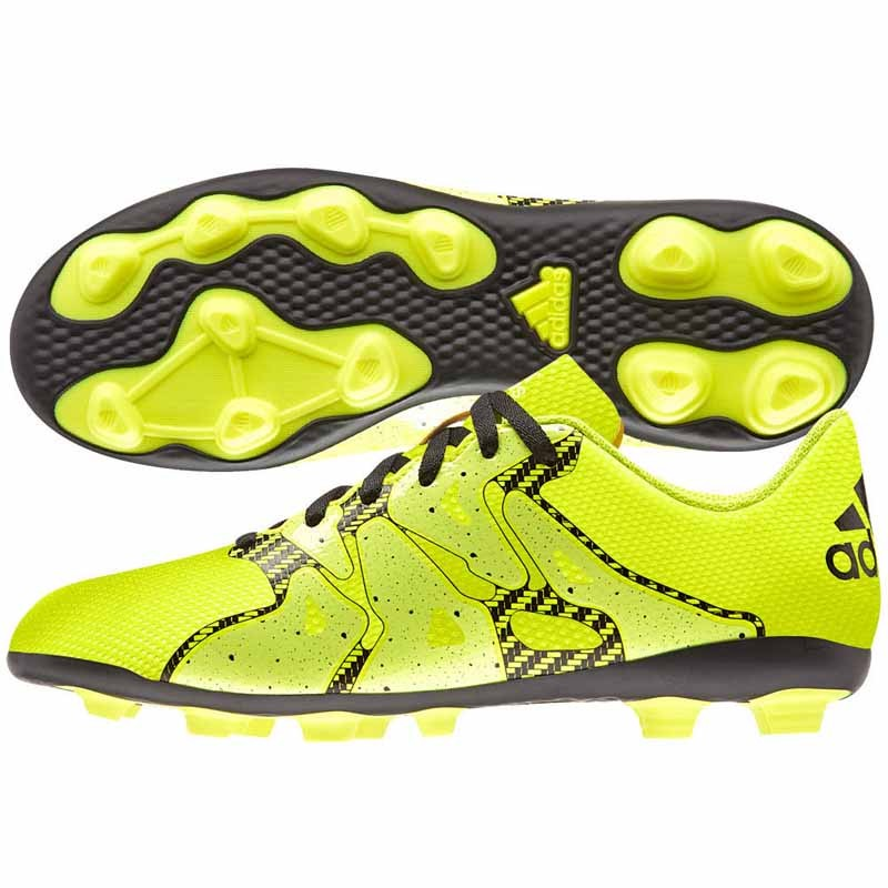 Adidas X 15.4 FxG Solar Yellow   Black B32788 (Youth). Loading zoom fc334a2123a56