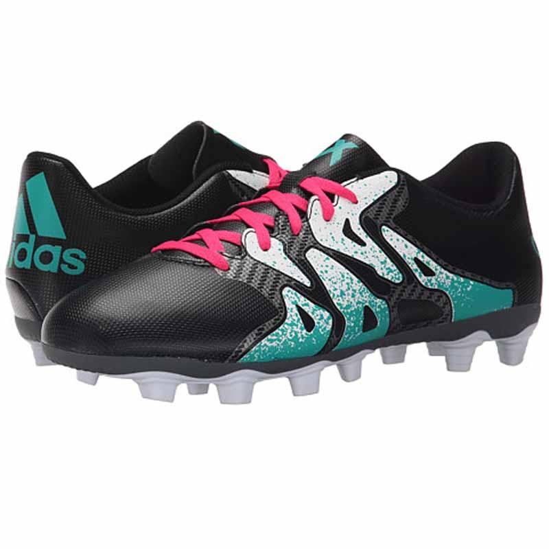 size 40 72984 f9a8b Adidas X 15.4 FXG Black / Mint S75605 (Men's)
