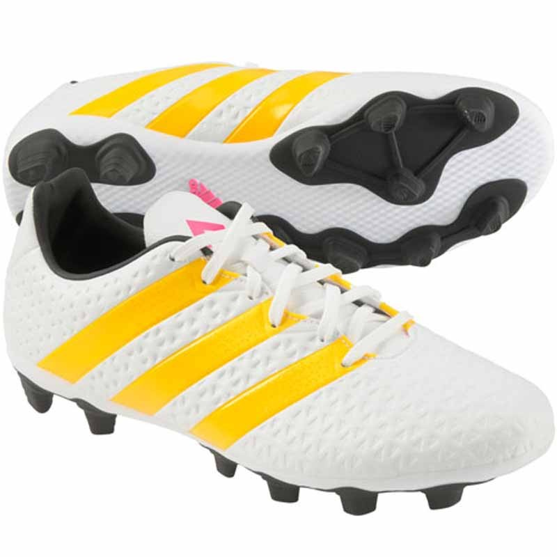 pretty nice 97a63 07bdc Adidas Ace 16.4 FXG White / Gold AF5038 (Women's)