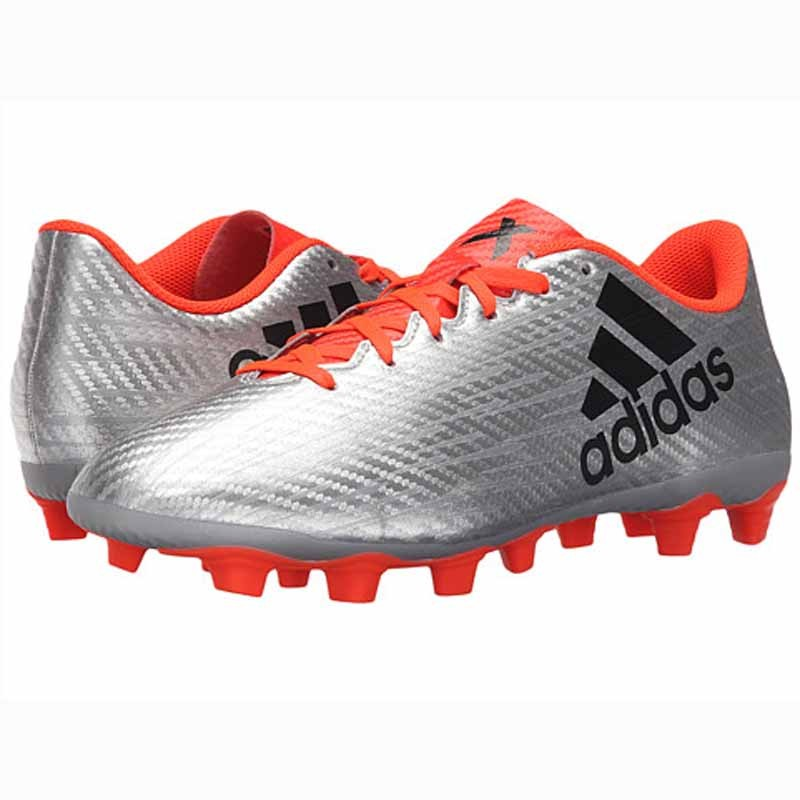 the latest a96aa 95d13 Adidas X 16.4 FXG Silver / Black / Red S75676 (Men's)