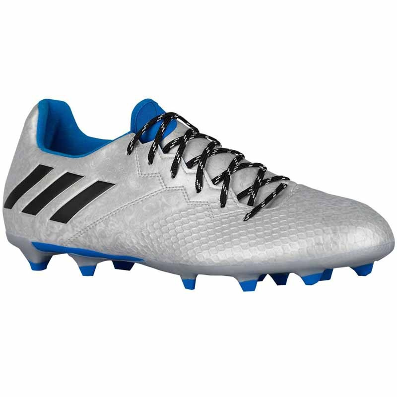 Adidas Messi 16.3 FG J Silver Blue Black S79623 (Youth)