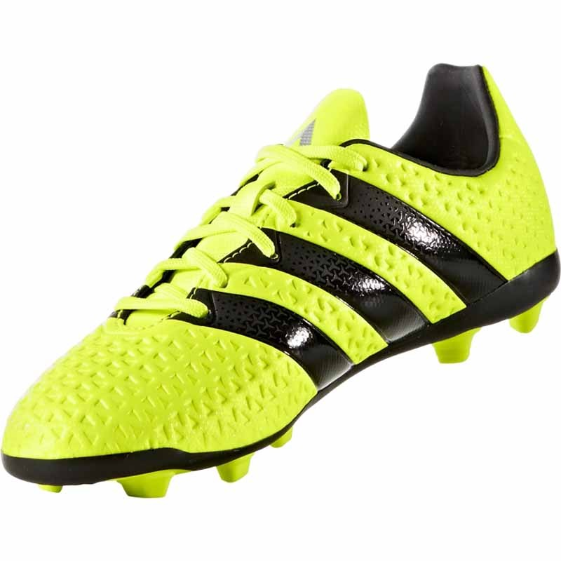 c1d439dfb98f Adidas Ace 16.4 FXG J Yellow   Black   Silver S42144 (Youth). Loading zoom