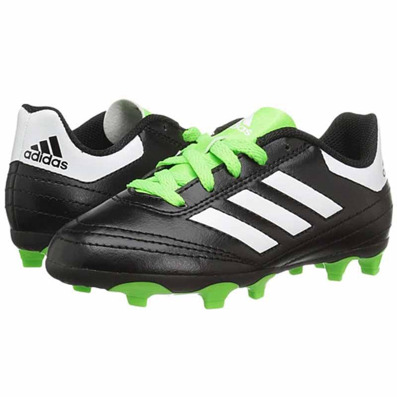 Adidas Goletto Vi Fg J Black Green Bb0570 Youth