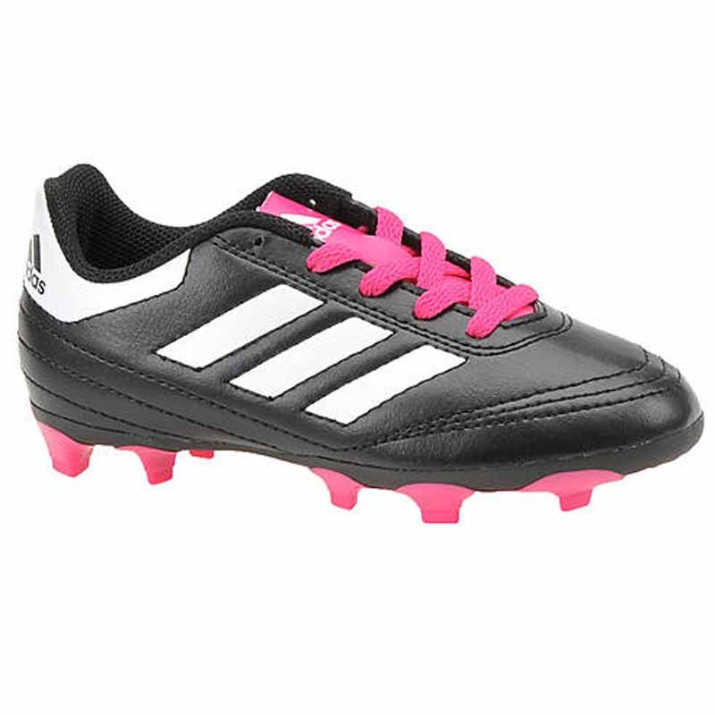 lowest price 616ff 2c532 Adidas Goletto VI FG J Black  Pink BB0571 (Youth). Loading zoom