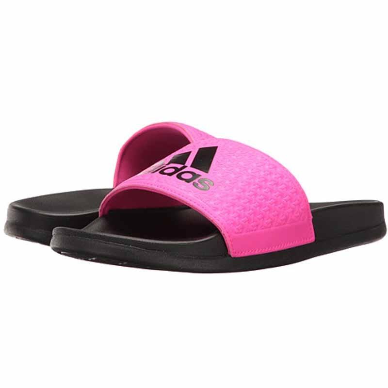 ae88191eab17 Adidas Adilette CF+K Black   Pink BA7695 (Youth)