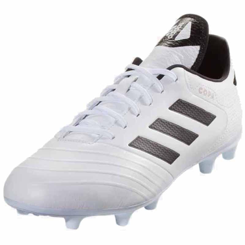 Adidas Copa 18.3 FG White   Black BB6358 (Men s). Loading zoom 87a82f8a97baa