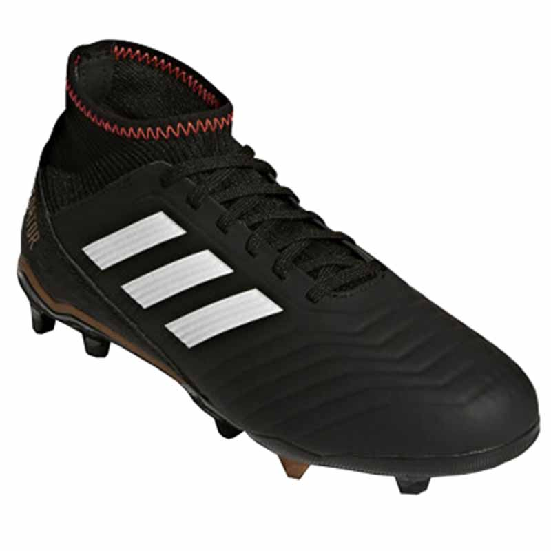 767150d6fde Adidas Predator 18.3 FG J Black   White   Red CP9010 (Youth). Loading zoom
