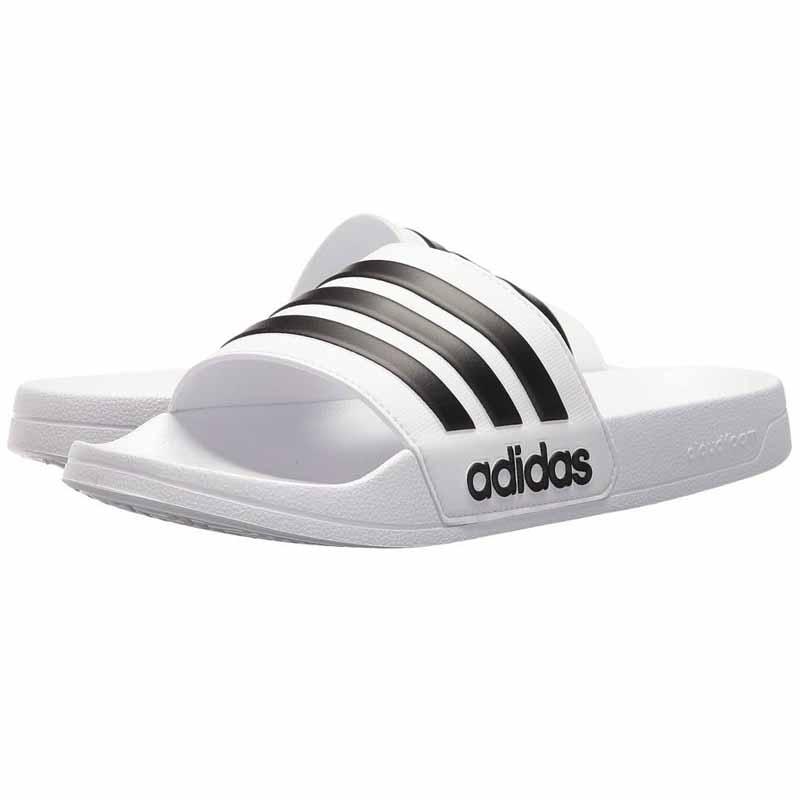adidas Adilette CF Men's White/Black AQ1702