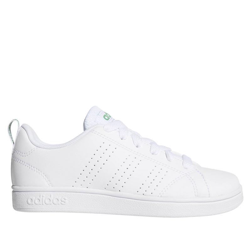 e4b129524 Adidas VS Advantage Clean White  Green AW4884 (Kid s)