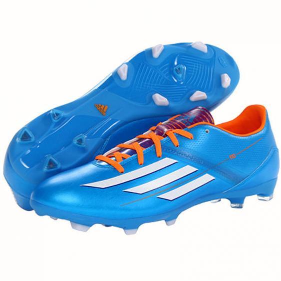Adidas F10 TRX FG Solar Blue / White / Solar Zest D67146 (Men's)