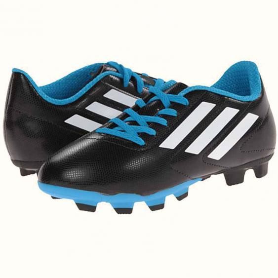 Adidas Conquisto FG J Black / White / Solar Blue B25593 (Youth)