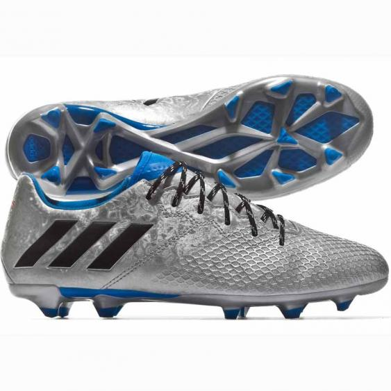 Adidas Messi 16.3 FG J Silver / Blue / Black S79631 (Men's)