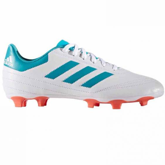 Adidas Goletto VI FG W White / Blue / Coral BY2774 (Women's)