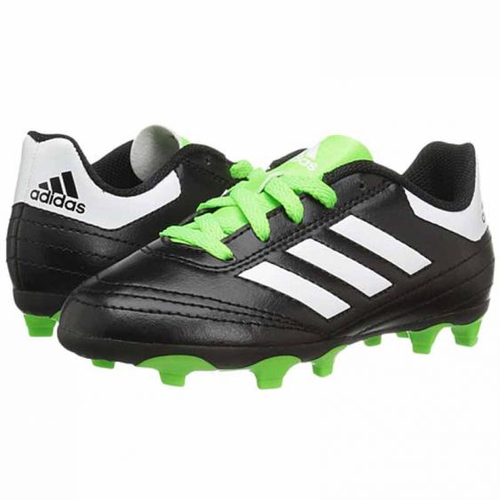 Adidas Goletto VI FG J Black / Green BB0570 (Youth)