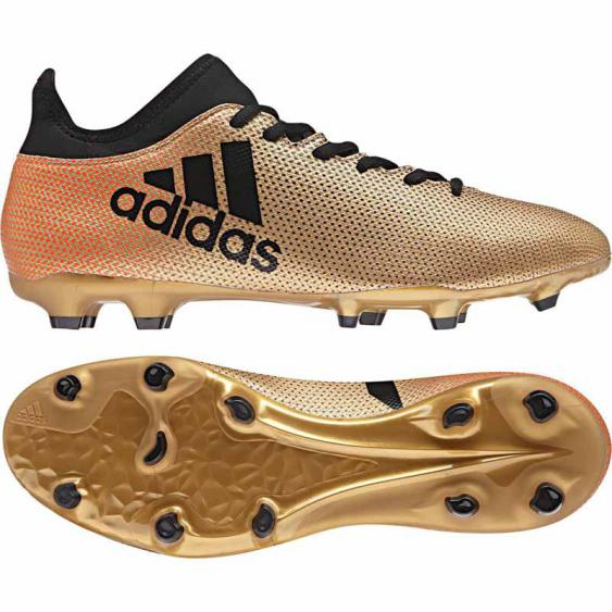 Adidas X 17.3 FG Gold / Black CP9190 (Men's)