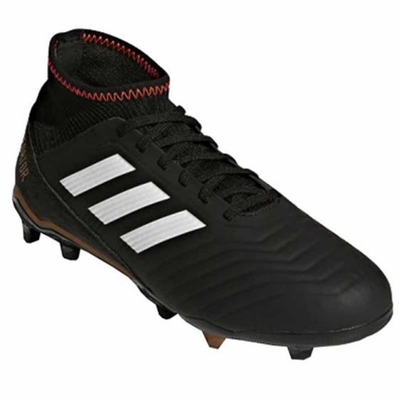 Adidas Predator 18.3 FG J Black / White / Red CP9010 (Youth)