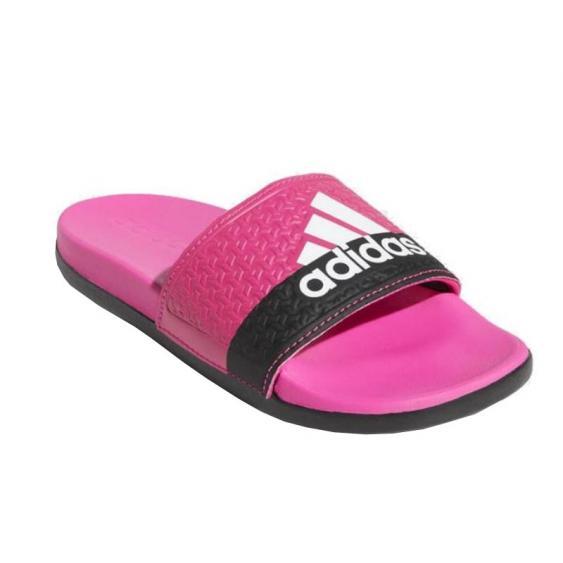 Adidas Adilette CLF+ Pink/ White/ Black B44875 (Youth)