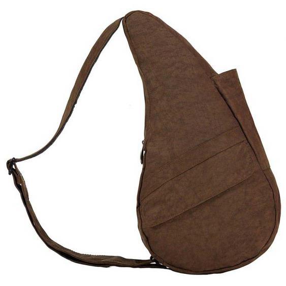AmeriBag Classic Healthy Back Bag 6103-BR Small Brown Distressed Nylon