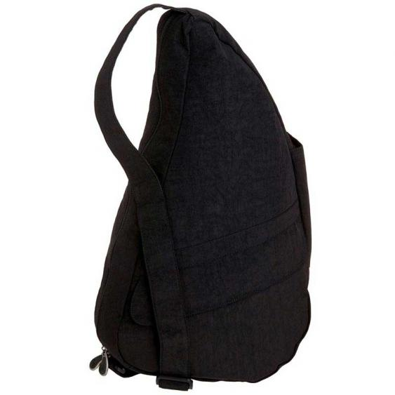 AmeriBag Classic Healthy Back Bag 6103-BK Small Black Distressed Nylon