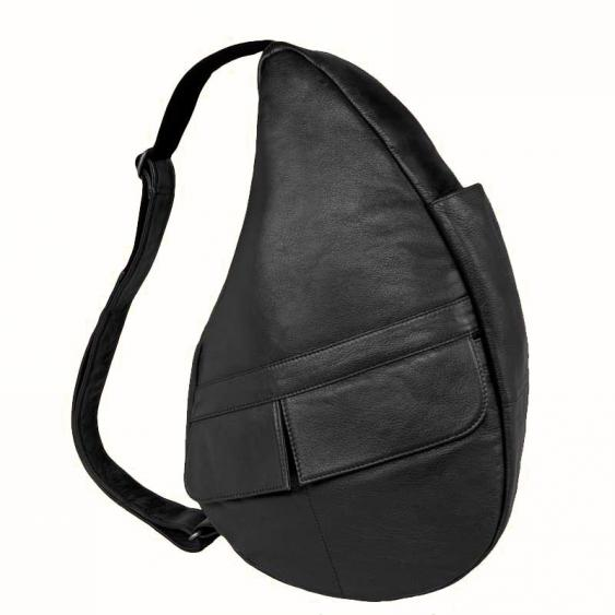 AmeriBag Classic Healthy Back Bag 5103-BK Small  Black Leather