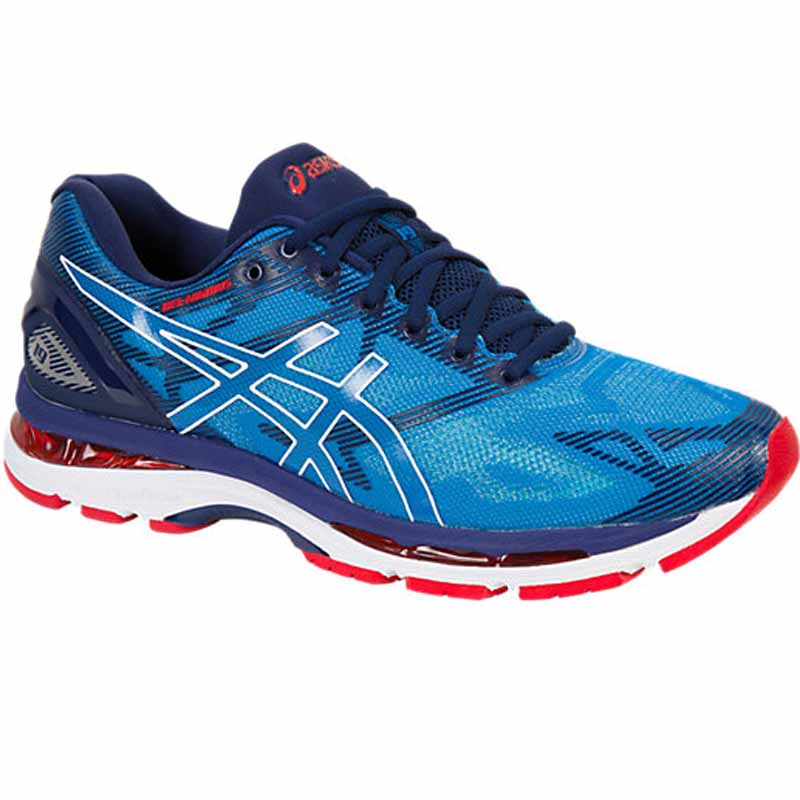 best sneakers 1b579 8efd7 Asics Gel Nimbus 19 Blue / White T700N.4301 (Men's)