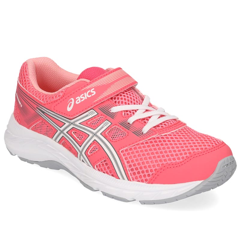 new arrival e639a 84721 Asics Gel Contend 5 PS Pink Cameo/ White 1014A048.701 (Youth)