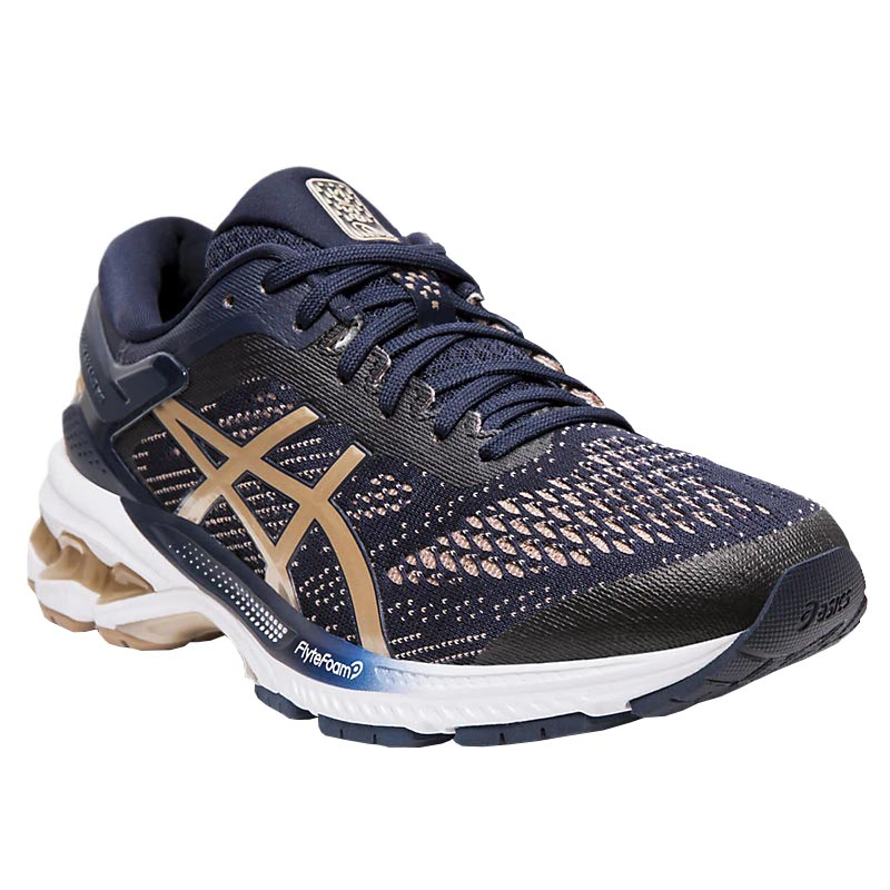 huge selection of 34f50 21b83 Asics Gel-Kayano 26 Midnight/ Almond 1012A457.400 (Women's)
