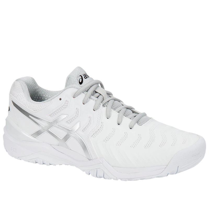 Asics Gel Resolution 7 White Silver E701Y.01963 (Men's)