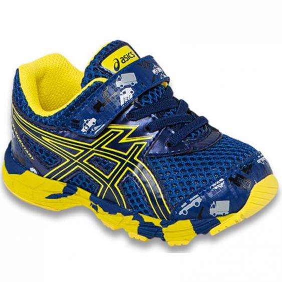 Asics Turbo TS Indigo Blue / Flash Yellow C573N.4942 (Infant)