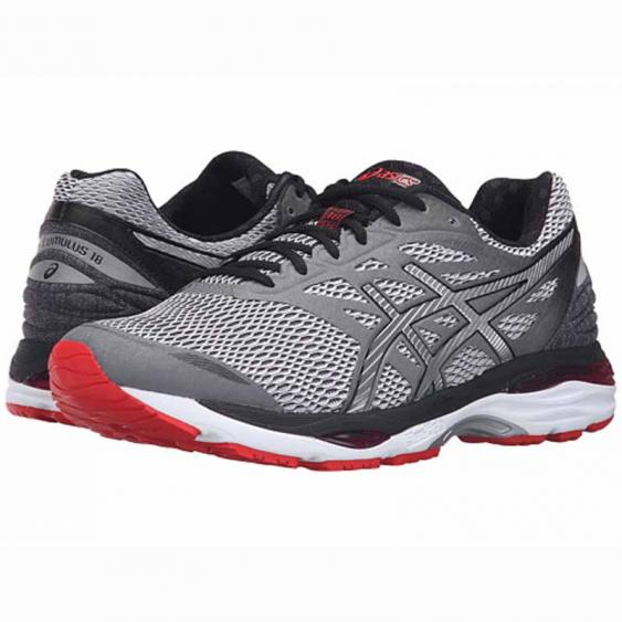 Asics Gel Cumulus 18 Carbon / Vermillion T6C3N.9793 (Men's)