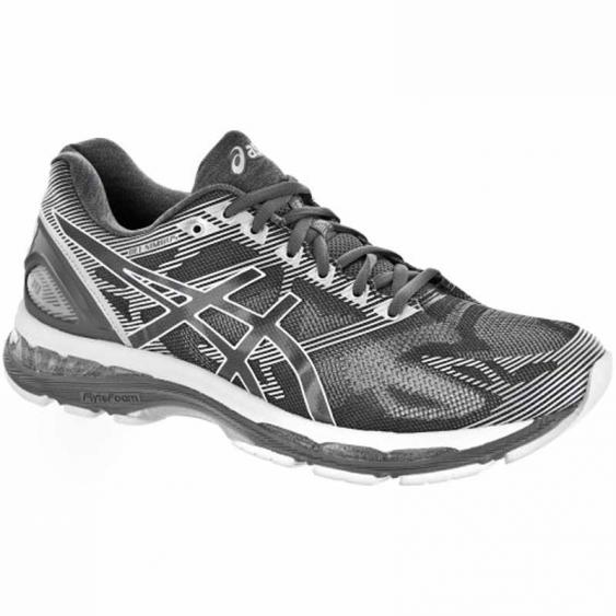 Asics Gel Nimbus 19 Carbon / White / Silver T700N.9701 (Men's)