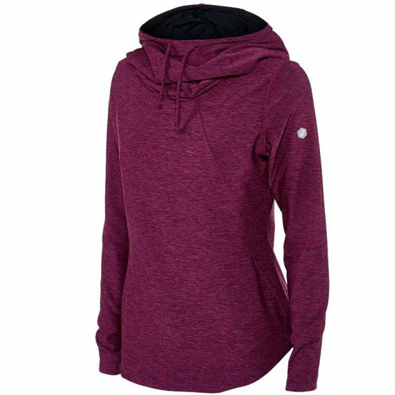 Asics Thermopolis Hoodie Prune Heather WR3422.0299 (Women's)