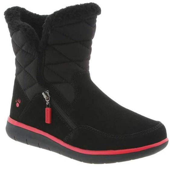 Bearpaw Katy Black/ Red 2048W-011 (Women's)