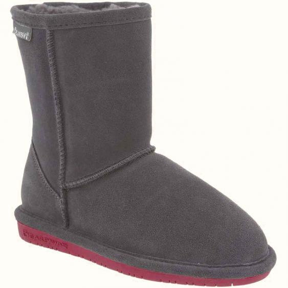 Bearpaw Emma Charcoal Pomberry 608y 903 Youth