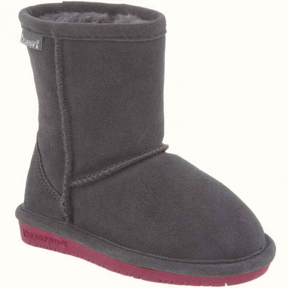 Bearpaw Emma Charcoal / Pomberry 608T-903 (Kids)