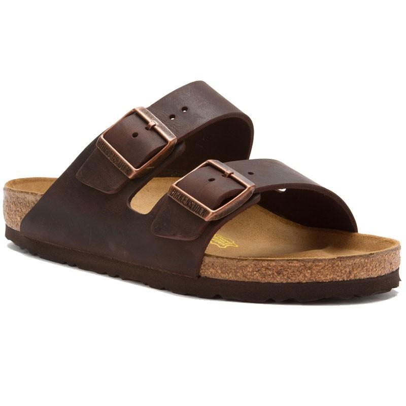 birkenstock arizona habana oiled leather mens sandals
