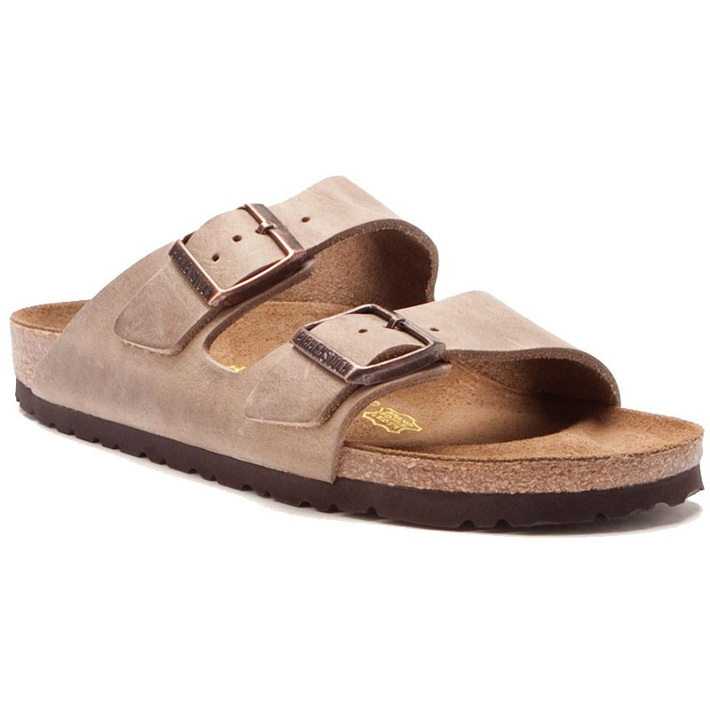 bf275bd6399f9a Birkenstock Arizona Tobacco Oiled Leather 35220-1 3 (Unisex). Loading zoom