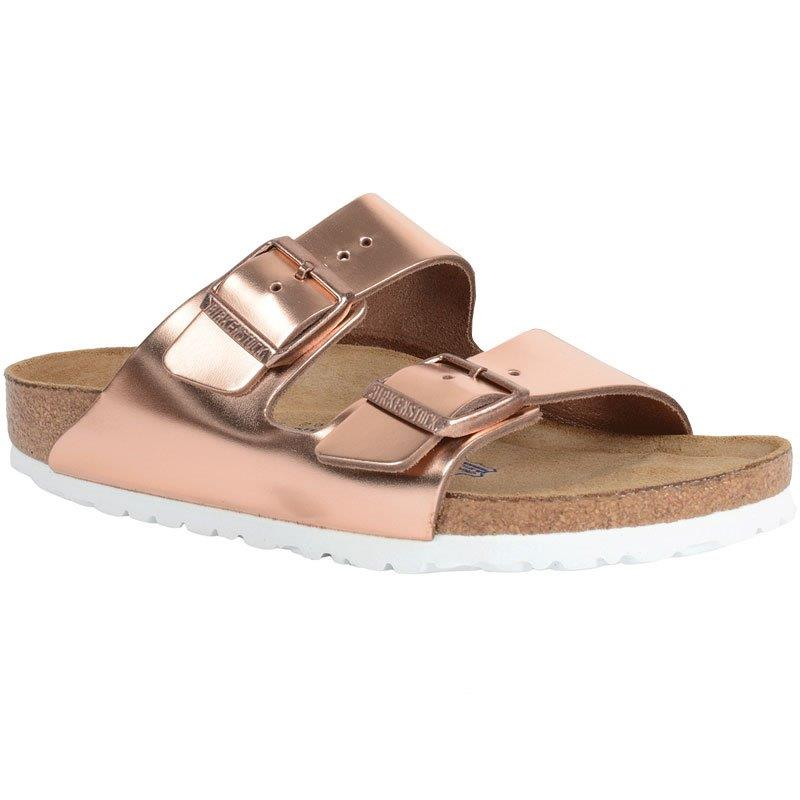 2337835b7cf Birkenstock Arizona Soft Footbed Metallic Copper 95209-1 3 (Women s)