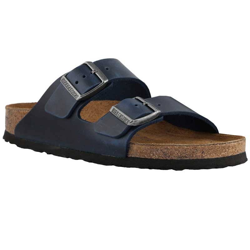 Birkenstock Arizona Soft Footbed Blue Oiled Leather 1013-643 (Women s).  Loading zoom 503a8cabb