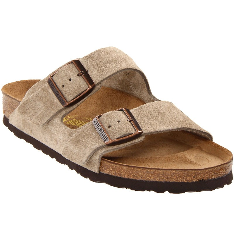 0d6f714dd832 Birkenstock Arizona Taupe Suede 5146 (Unisex). Loading zoom