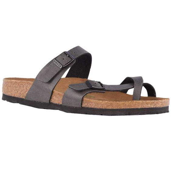 Birkenstock Mayari Vegan Anthracite Pull-Up 1009512 (Women's)